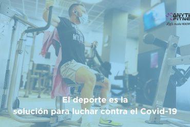 El deporte es la solución para luchar contra el Covid-19